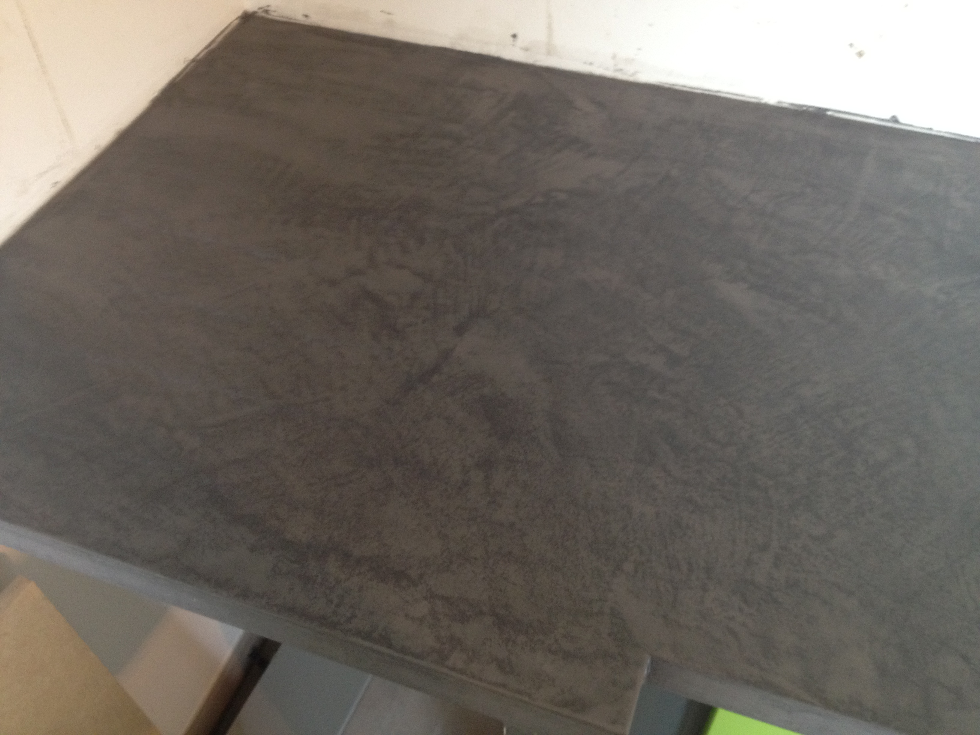 Patine d co beton cire - Beton cire anthracite ...